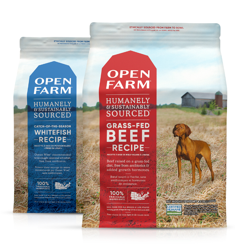 humanely sourced dog food