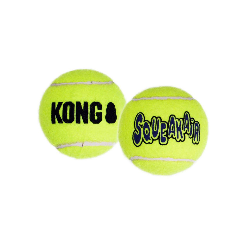 Kong Air Squeaker Ball Toy 2pk LG