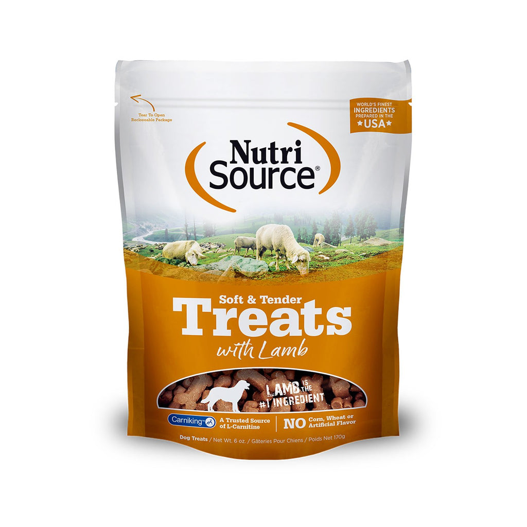 Nutrisource Lamb Soft & Tender 6oz