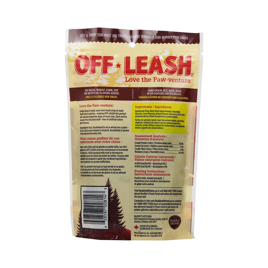 Complete Natural Off Leash Smokey Beef 150g