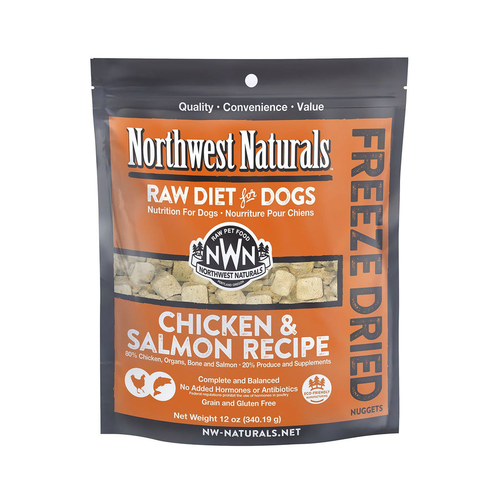Northwest Naturals Freeze Dried Dog Chicken & Salmon 12oz