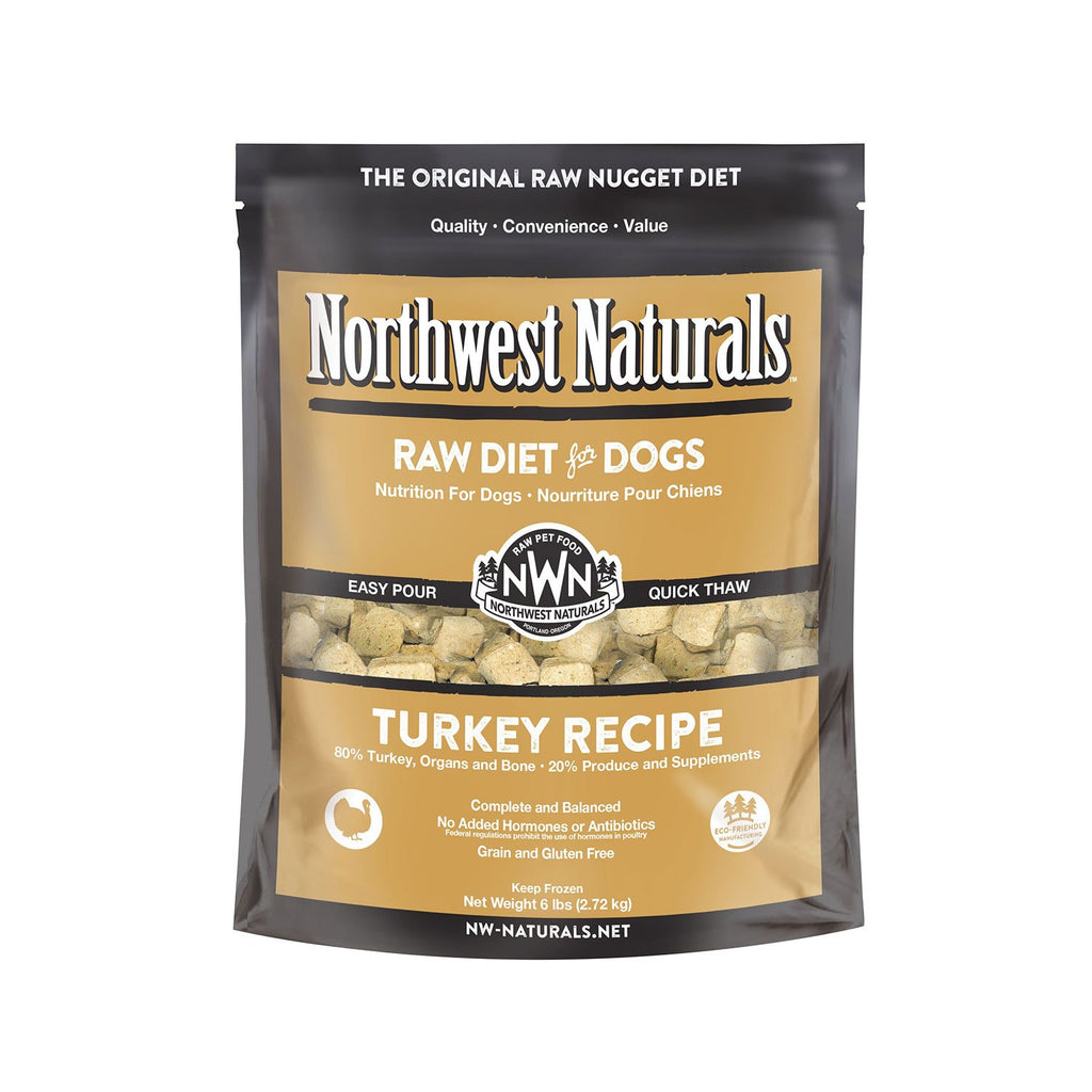 Northwest Naturals Raw Dog Turkey Nuggets 6lb
