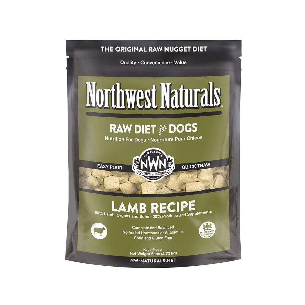 Northwest Naturals Raw Dog Lamb Nuggets 6lb