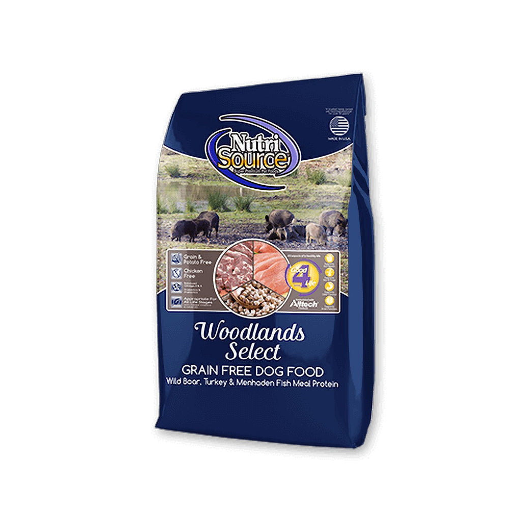 Nutrisource Grain Free Woodlands Select 30lb