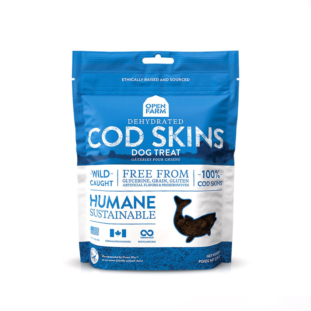 Open Farm Dehydrated Cod Skin 2.25oz