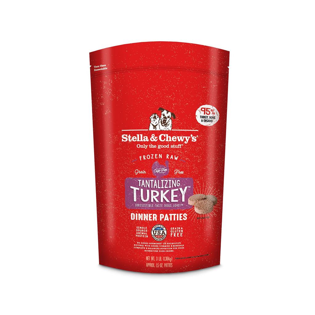 Stella & Chewy's Dog Raw Turkey 3lb