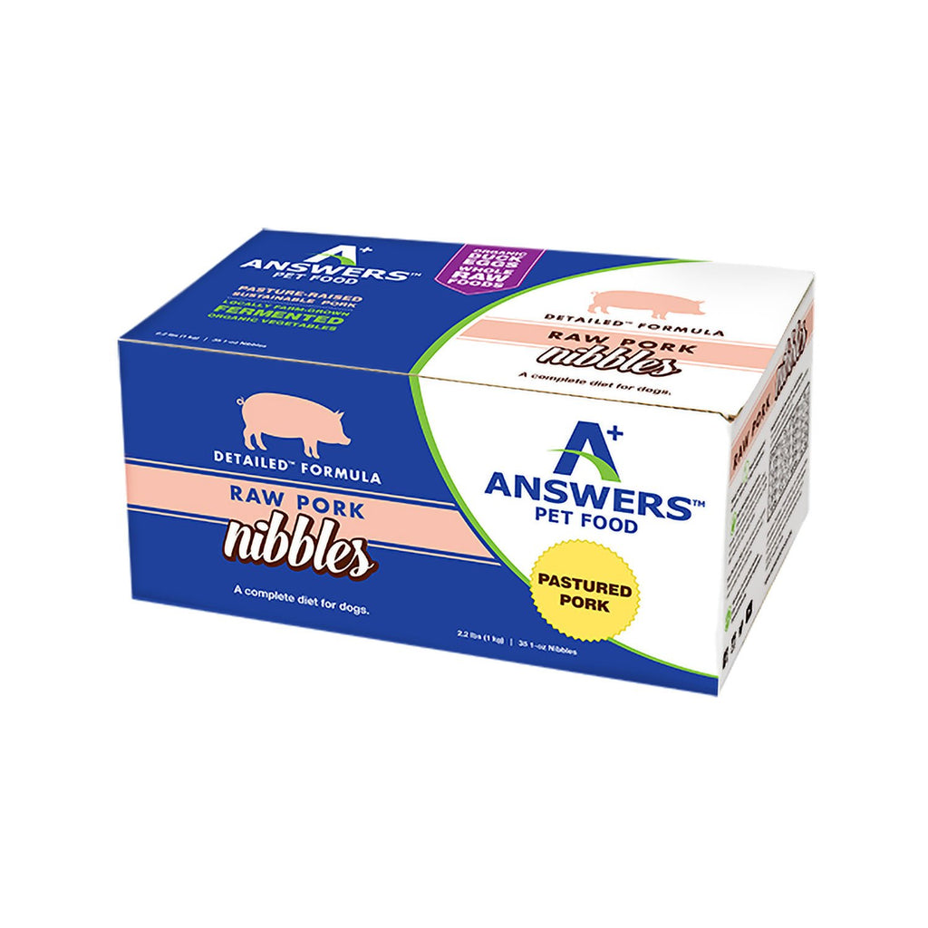 Answers Detailed Pork 2.2lb Nibbles