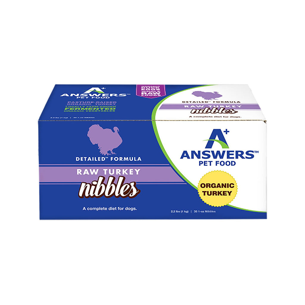 Answers Detailed Turkey 2.2lb Nibbles