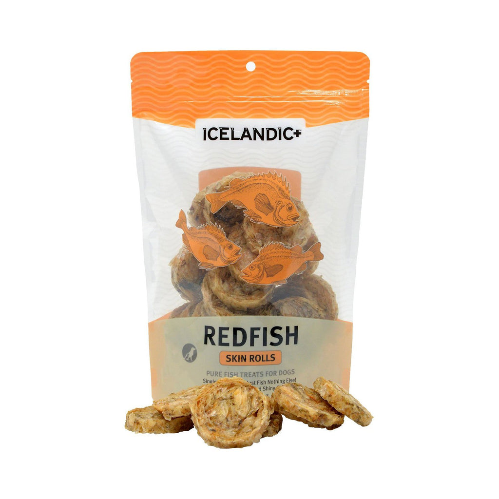 Icelandic+ Redfish Skin Roll Treat 3oz