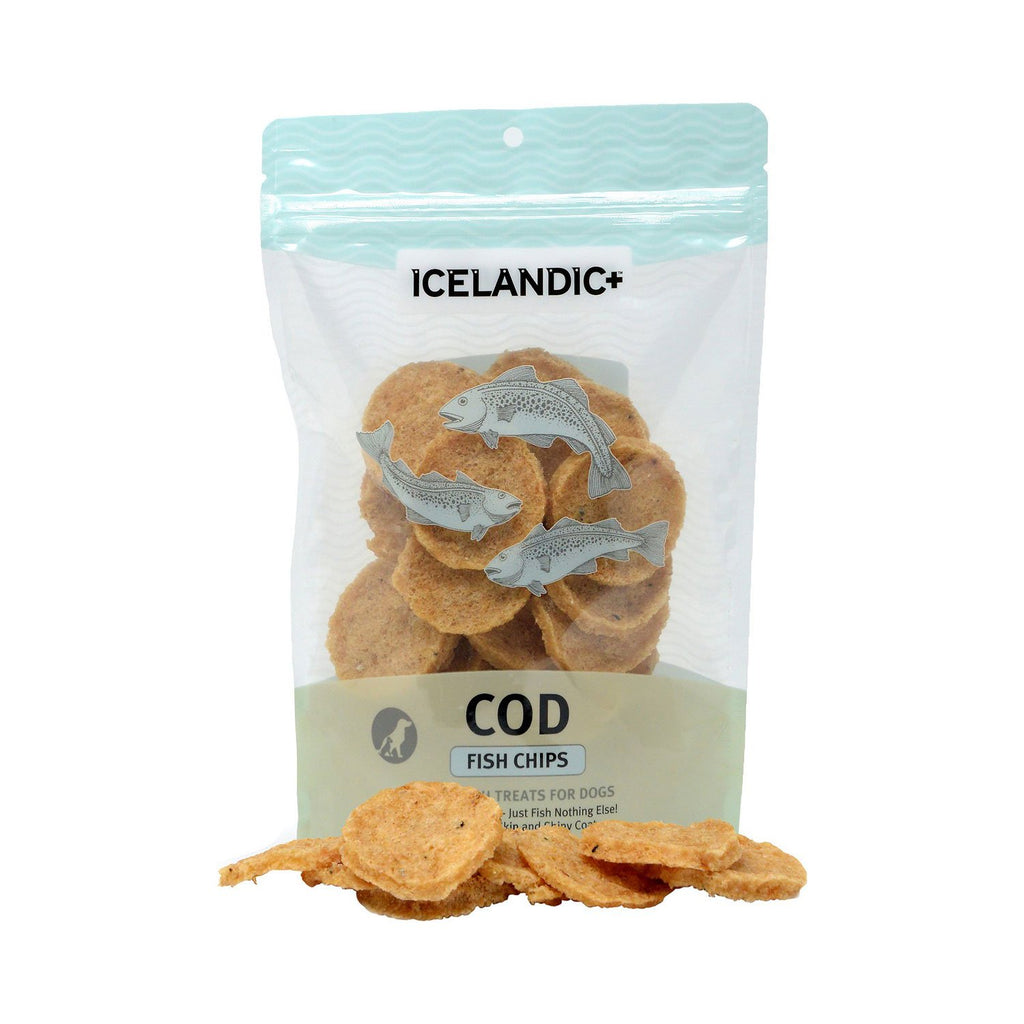 Icelandic+ Cod Fish Chip Treat 2.5oz
