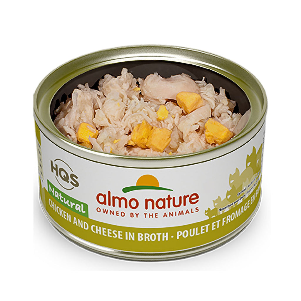 Almo Cat Natural Chicken & Cheese
