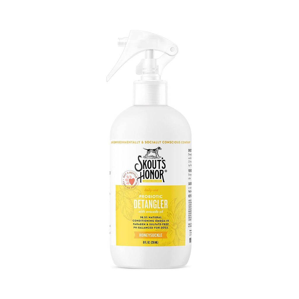 Skout's Honor Probiotic Detangler Spray Honeysuckle 8oz