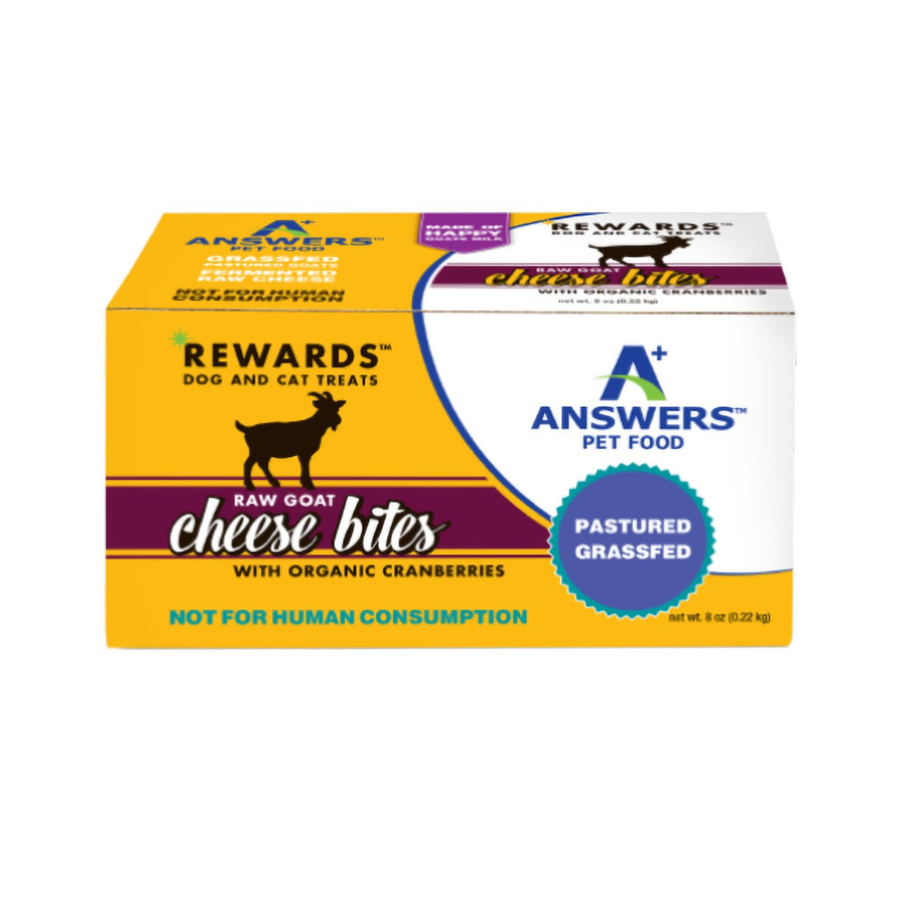 Answers Goat Milk Cheese Treat Cranberries 8oz