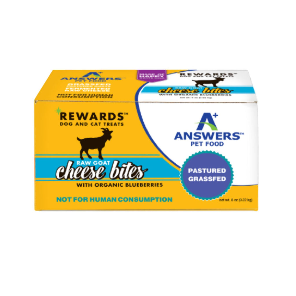 Answers Goat Milk Cheese Treat Blueberries 8oz