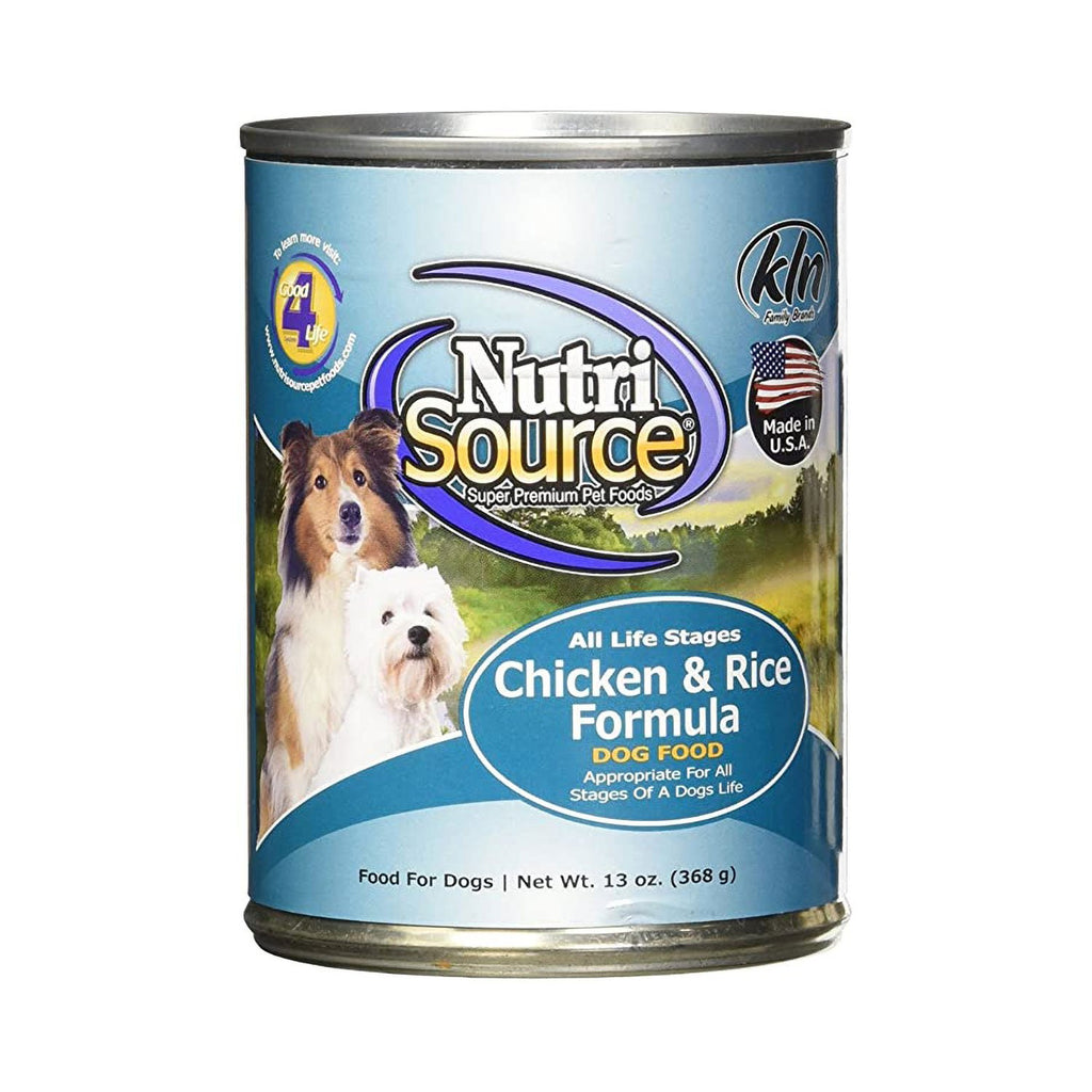 Nutrisource Chicken & Rice Can