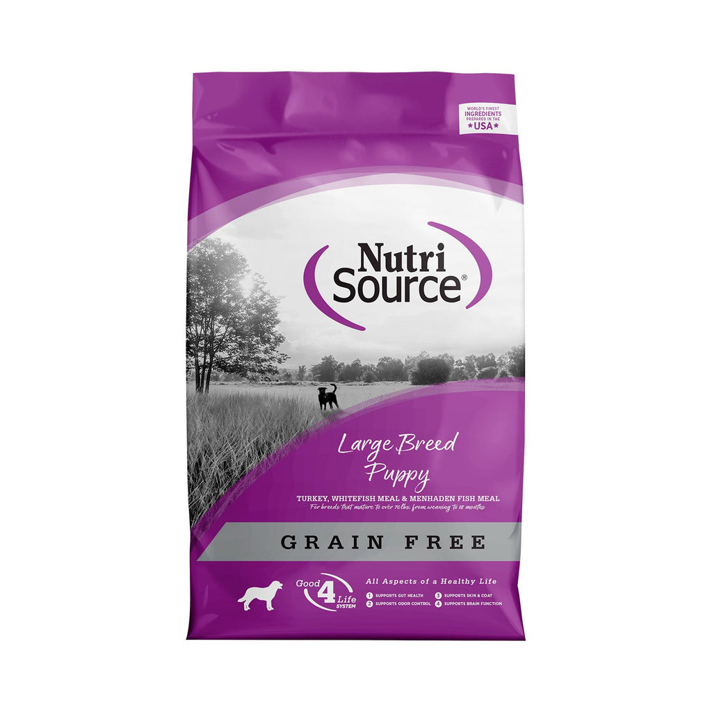 Nutrisource Grain Free Large Breed Puppy Dog 1.5lb