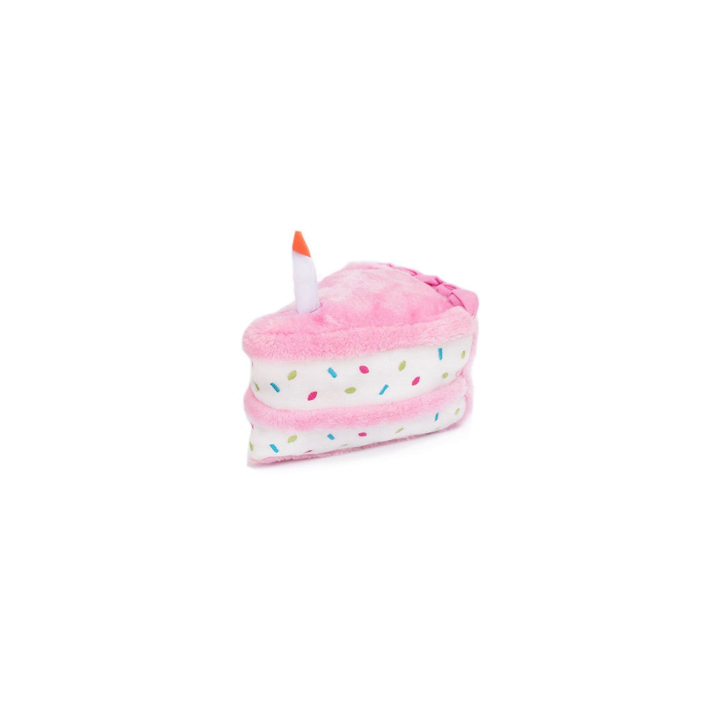ZippyPaws Birthday Cake Pink