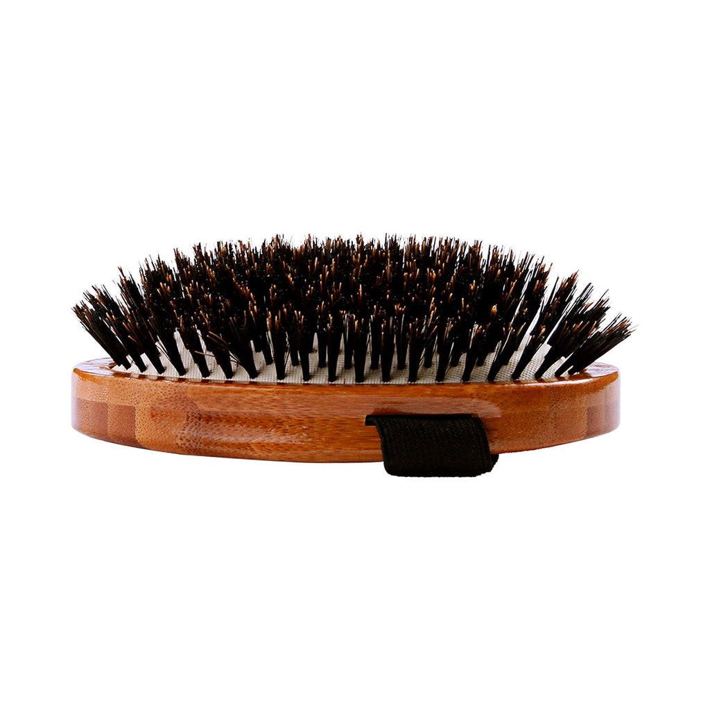 Bass Boar Bristle Brush Palm Style
