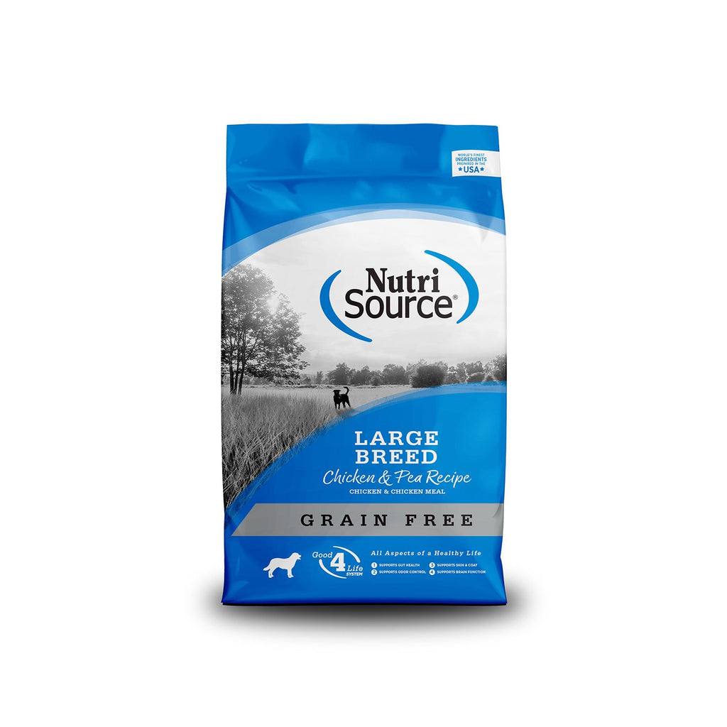 Nutrisource Grain Free Large Breed Chicken 30lb