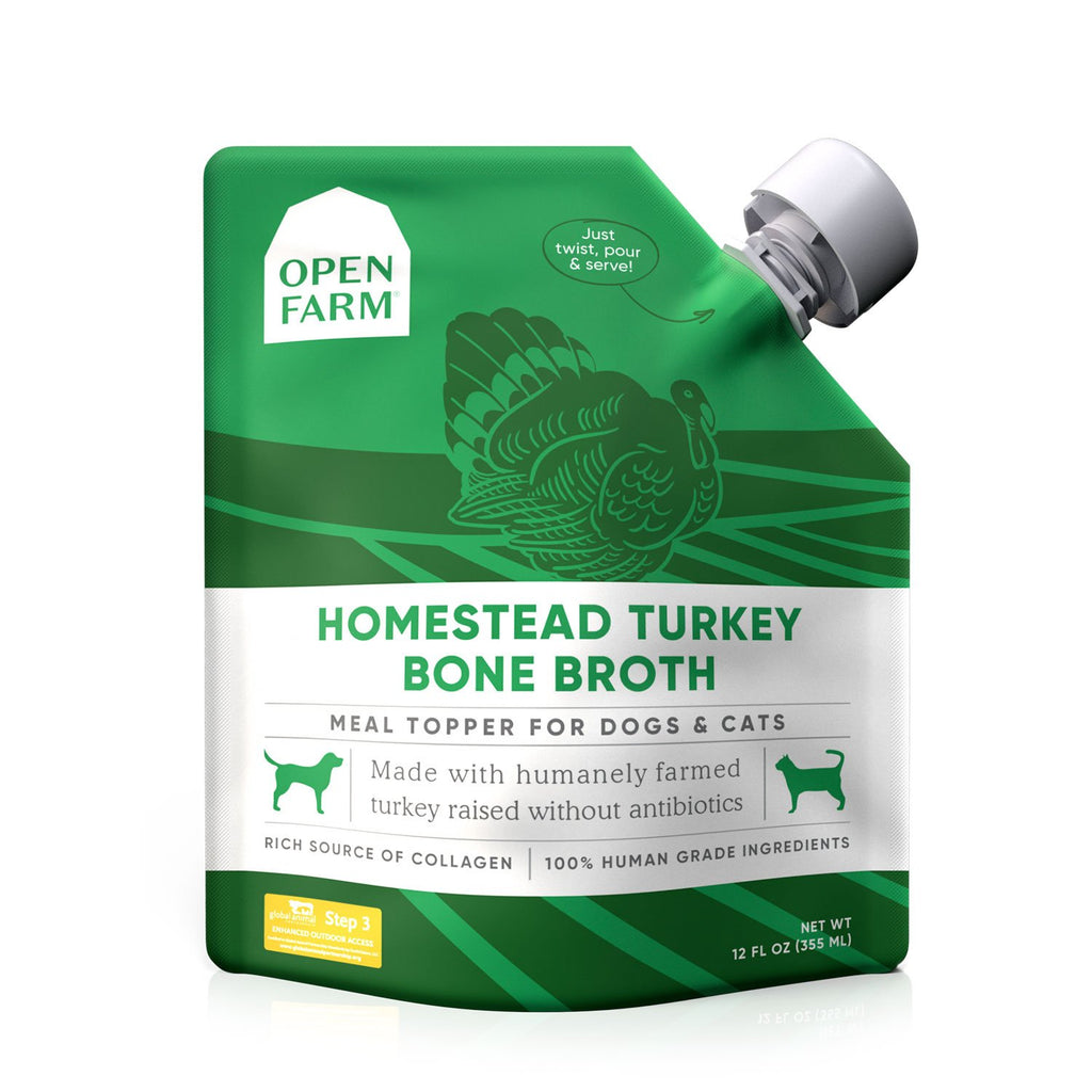 Open Farm Turkey Bone Broth 12oz
