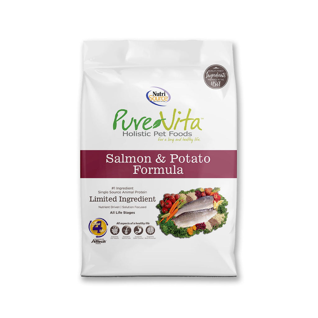 Pure Vita Salmon & Potato 5lb