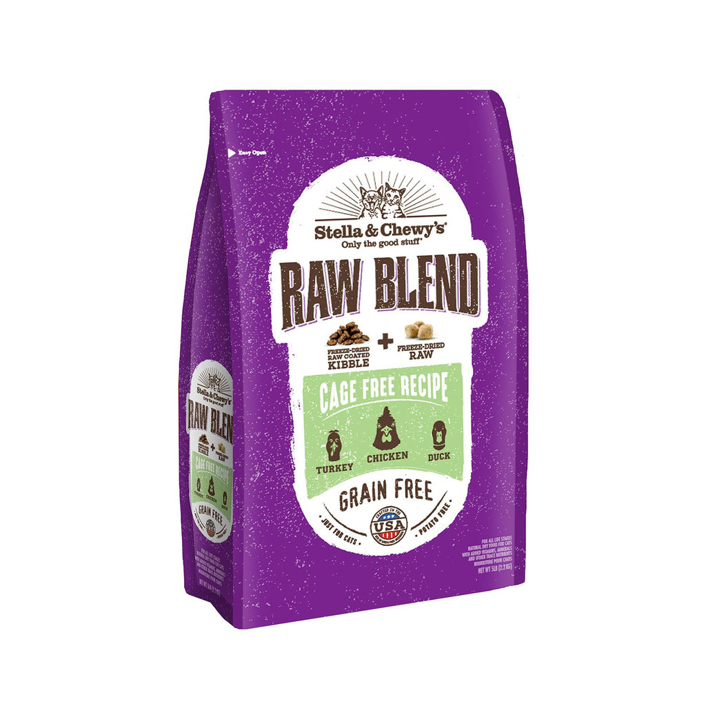 Stella & Chewy's Cat Raw Blend Cage Free 5lb