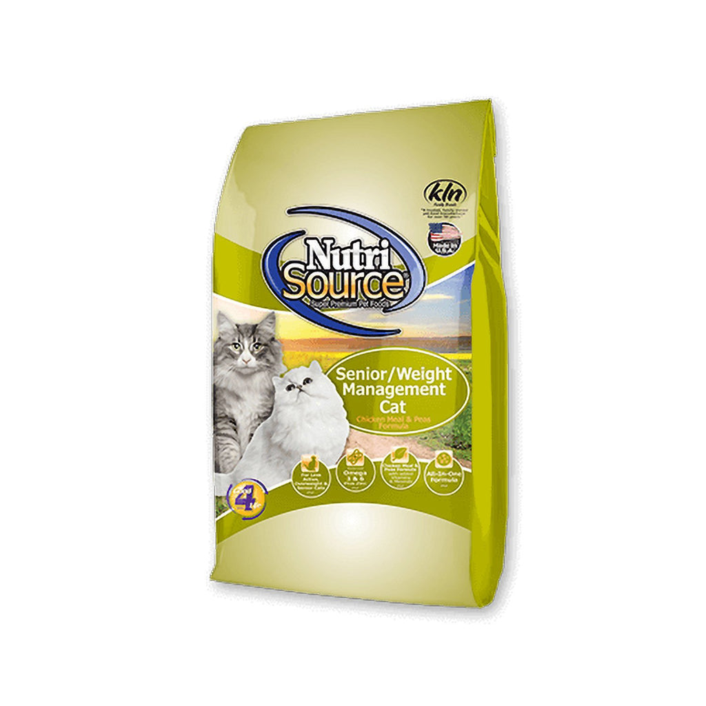 Nutrisource Cat Senior Weight Management Chicken & Rice 6.6lb