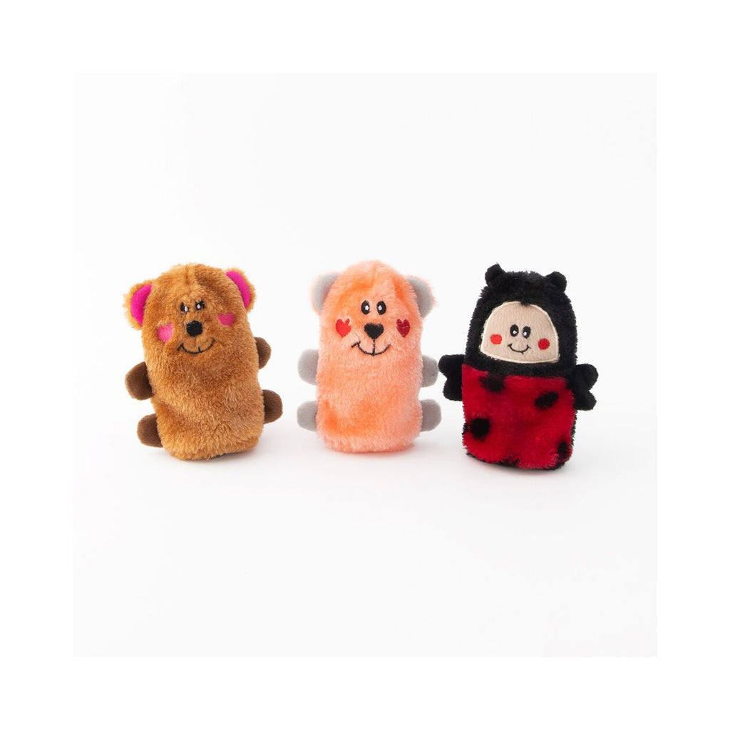 ZippyPaws Valentine Squeakie Buddies 3pk