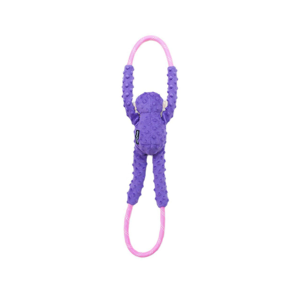 ZippyPaws Ropetugz Monkey Purple