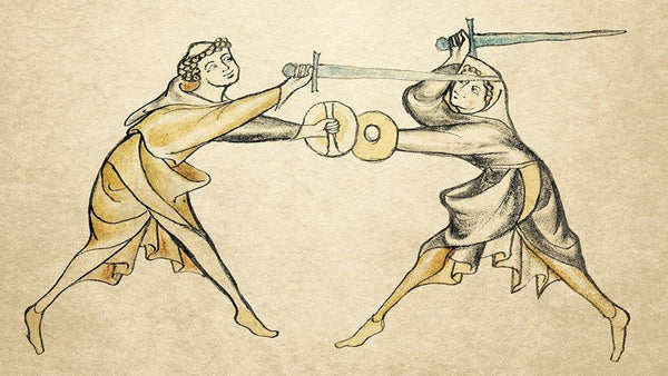 The oldest known European fencing manual in existence