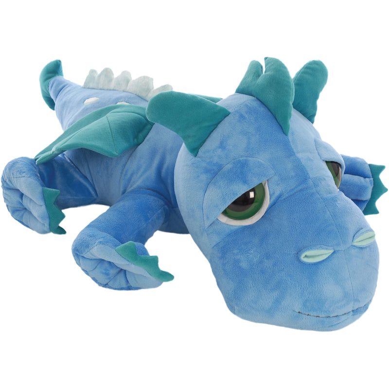 Medium dragon blue plush toy