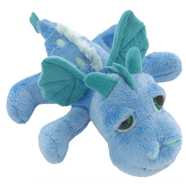 Small dragon blue plush toy