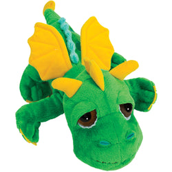 Medium dragon green plush toy