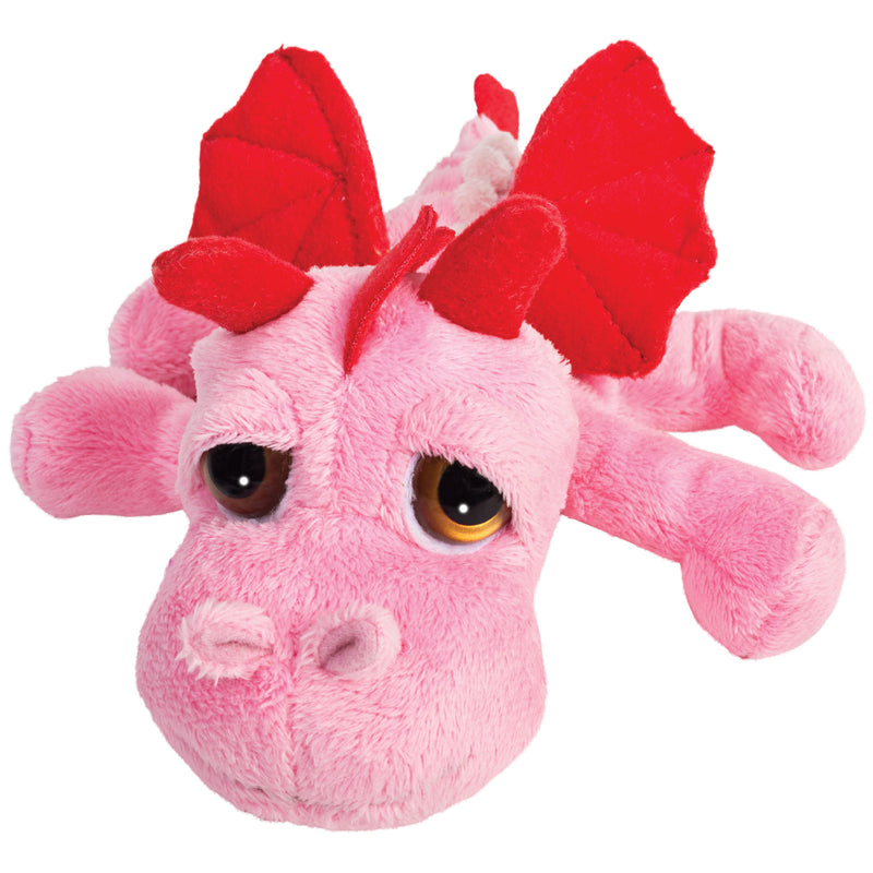 Small dragon pink plush toy