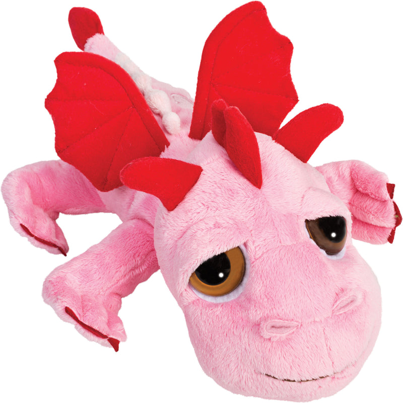 Medium dragon pink plush toy