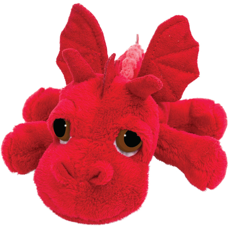 Small dragon red plush toy