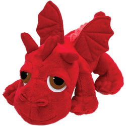 Medium dragon red plush toy