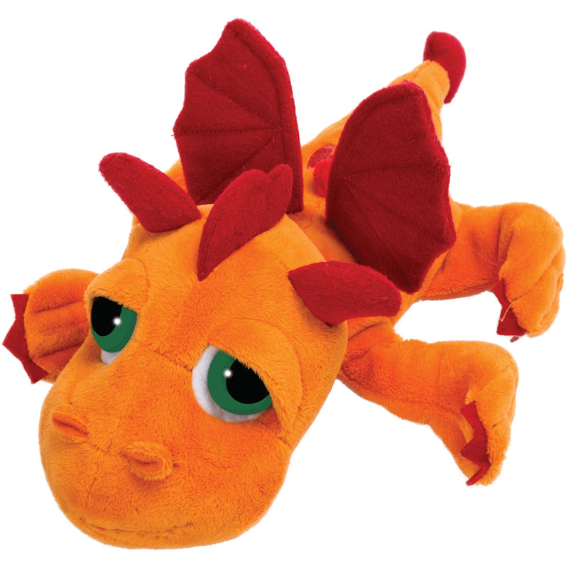 Medium dragon orange plush toy