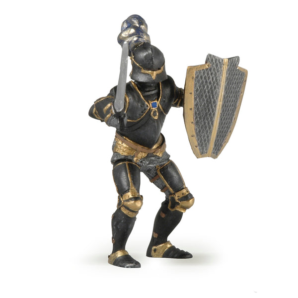 Papo figurines: knight in black armour