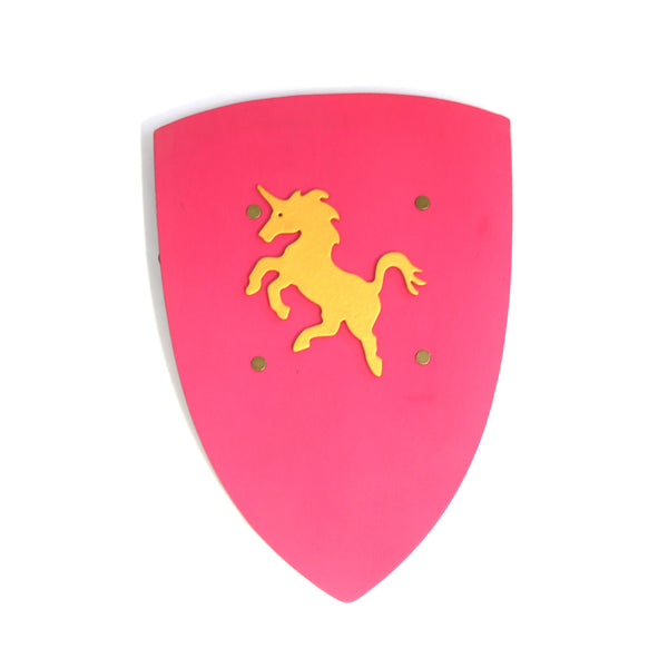 Children's medieval shield — pink