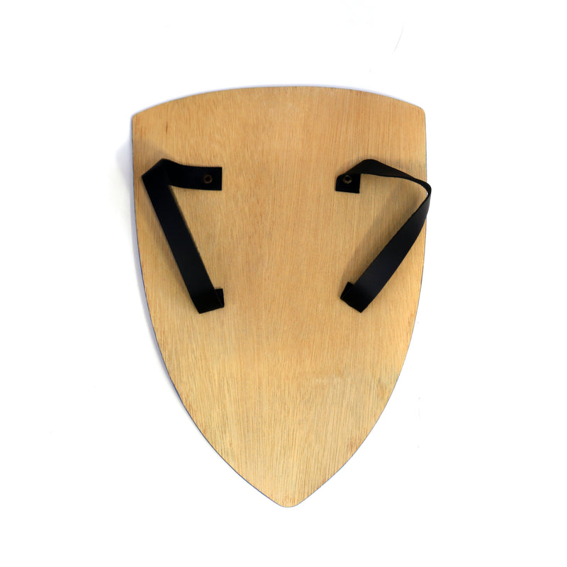 Children's medieval shield — green