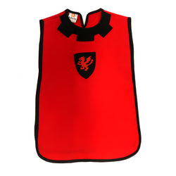 Children's medieval tabard — red and black