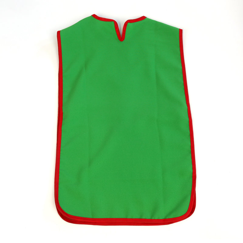 Children's medieval tabard — green and red