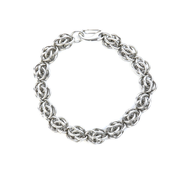 Men's chain mail bracelet