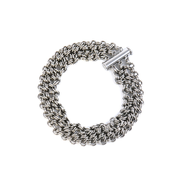 Japanese chain mail weave bracelet