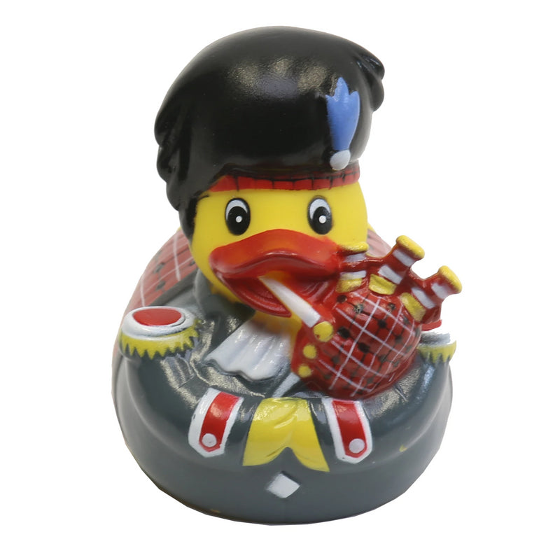 Scottish piper rubber duck