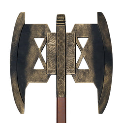 This accurate replica of the Axe carried by Gimli, the Dwarf, of the Fellowship of the Ring is a must have for all Lord of the Rings enthusiast.