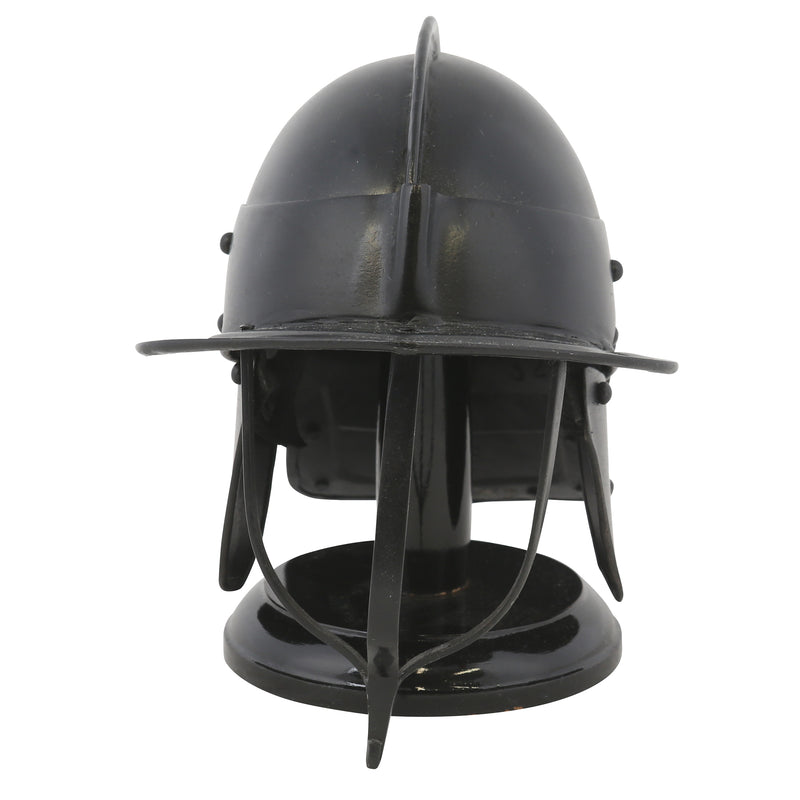 English Civil War cavalry helmet half scale – Royal Armouries collection