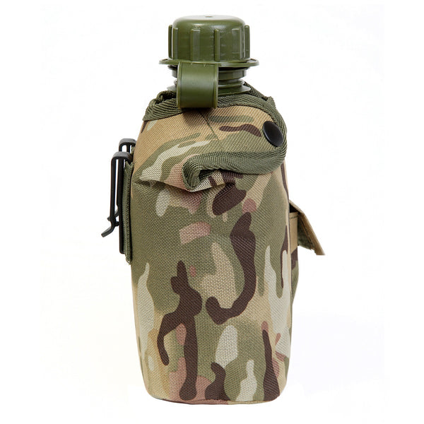 Children's camo water bottle in multi terrain DPM
