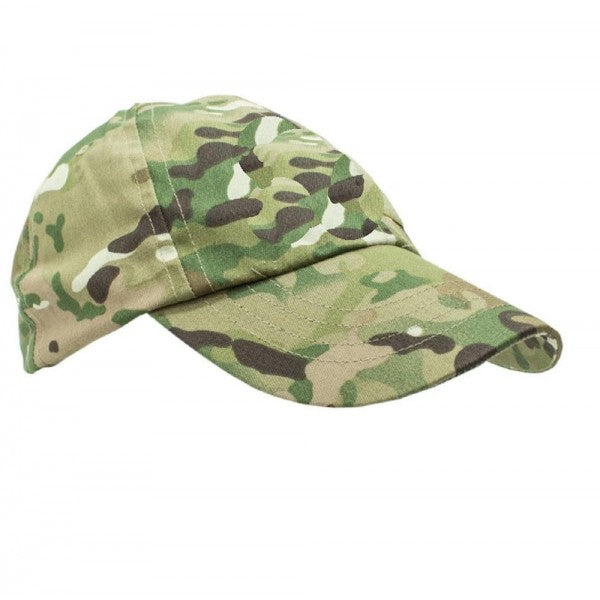 Children's camo hat in multi terrain DPM